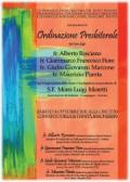 Ordinazione presbiteriale di Fra Giulio Giovanni Marcone